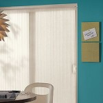 Cellular Shades for Sliding Doors.