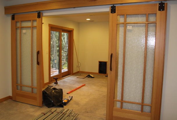 Sliding Barn Doors Interior 609 x 415