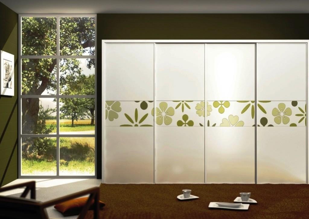 Decorative sliding closet doors with inspiring designs