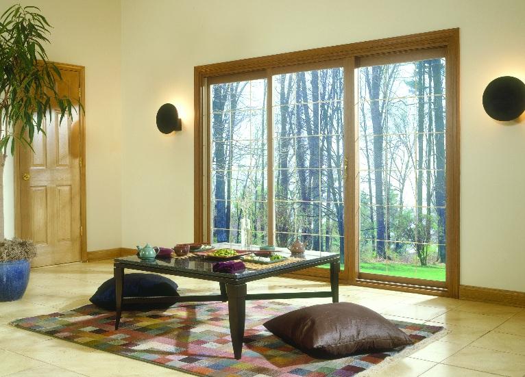 wood sliding patio doors. Wooden Sliding Patio Door In Modern Home Wood Doors