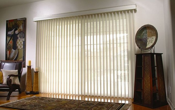 Beautiful Image of Vertical Blinds for Sliding Glass Door
