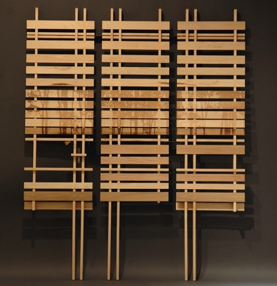 Bamboo room dividers eco friendly room divider Contemporary room dividers ideas