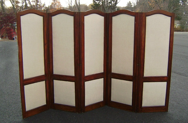 Folding Room Dividers Wood Frame