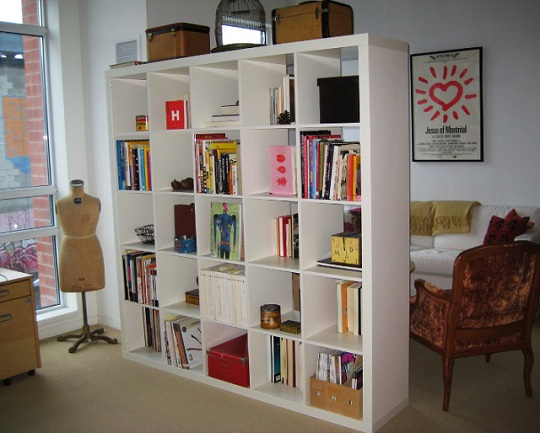 Ikea Bookcase Room Dividers