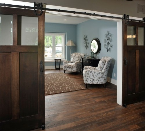 Sliding Barn Door Traditional Design