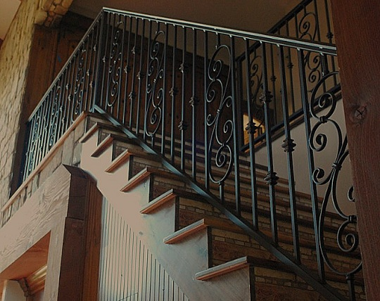 Wrought Iron Balusters Image