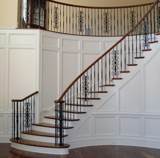 Wrought Iron Balusters with Beautiful Design