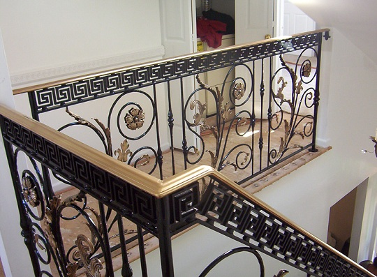Wrought Iron Balusters with Modern Design