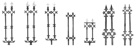 Wrought Iron Fence - Old Design