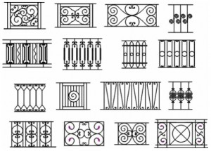 Wrought Iron Fence Panels 300x215