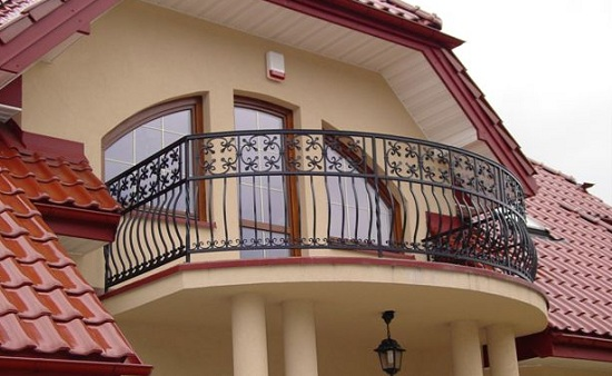 Wrought Iron Railing - Balcony Railings Image