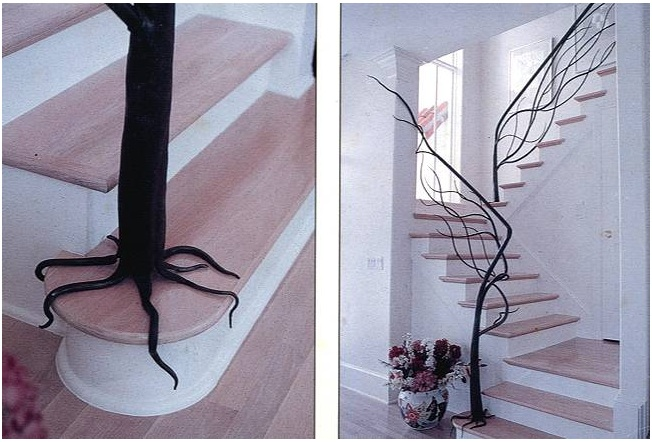 Wrought Iron Stair Railing Amazing Design ...
