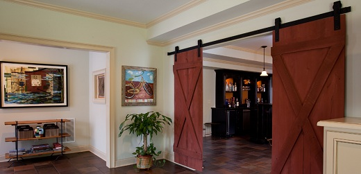 Classic Look Interior Barn Door