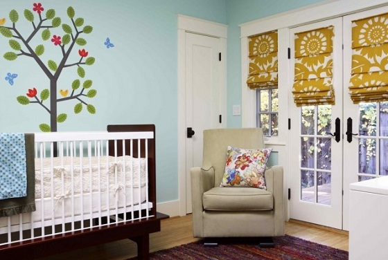 French Doors Blinds, Window Treatment Ideas
