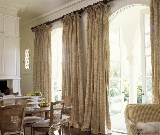 Long Curtain for French Doors