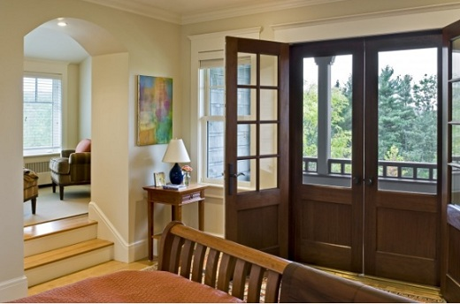 Wooden Screen Doors for French Door