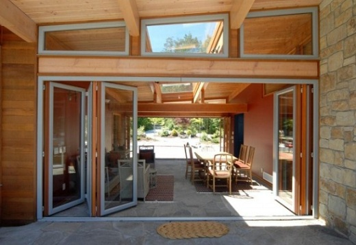 Beautiful Folding Patio Door Design