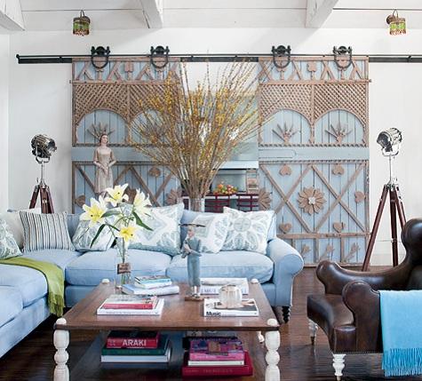 Contemporary Interior Sliding Barn Door Wit Amazing Design