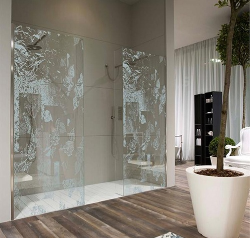 Creative Shower Screen Contemporary Design by Lupii