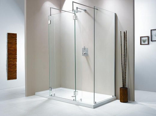 Frameless Glass Shower Doors for Minimalis Bathroom