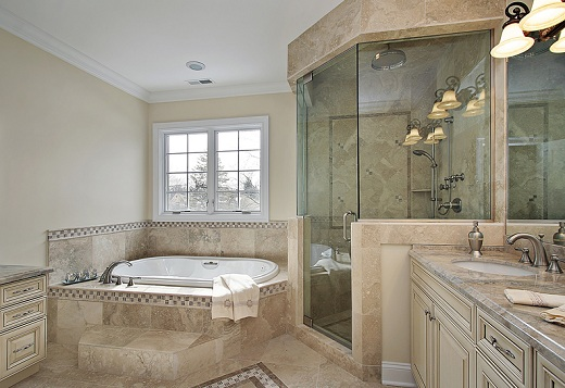 Glass Shower Door for Luxury Bathroom