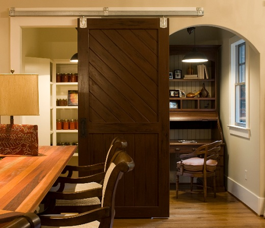Interior Barn Doors as Home Decoration