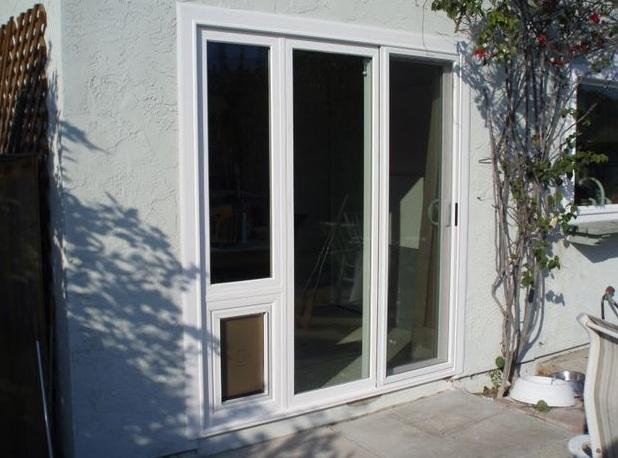 Sliding Glass Dog Door, Patio Pet Doors or Panel Pet Doors ...