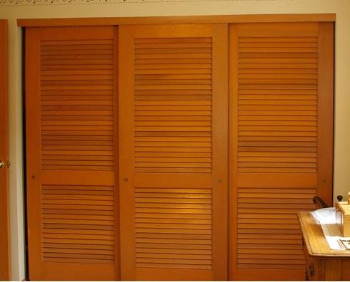 Sliding Wood Closet Doors